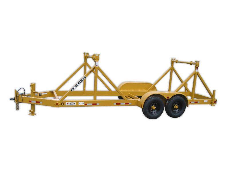 ul-250 two reel trailer - 5,000 lb per r