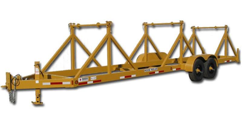 ul-335 three reel trailer - 3,500 lb per