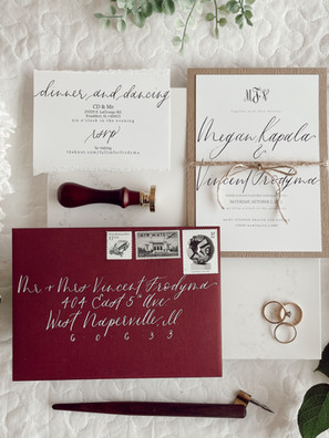 Custom Wedding Invitations: My Process