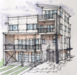 Wrightsville Beach modern house
