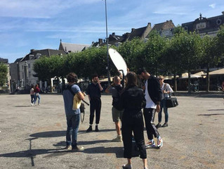 ESC 2020  Duncan Laurence spotted with camera crew in Maastricht!