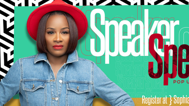 Speaker Speak Sophia Ruffin Promo Banner
