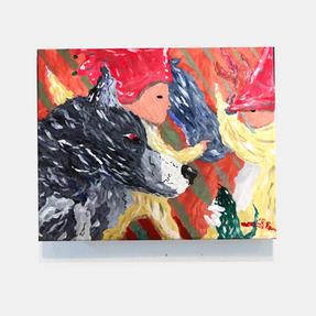 「小人と狼たちの遊び」