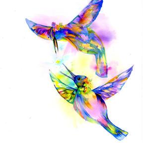 「星の巡る鳥たち」