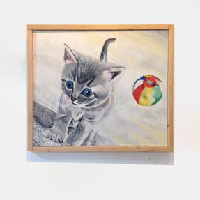 「猫と紙風船」