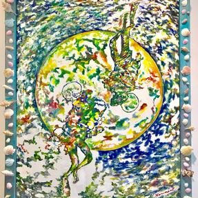 「浮上ー碧い月へー」