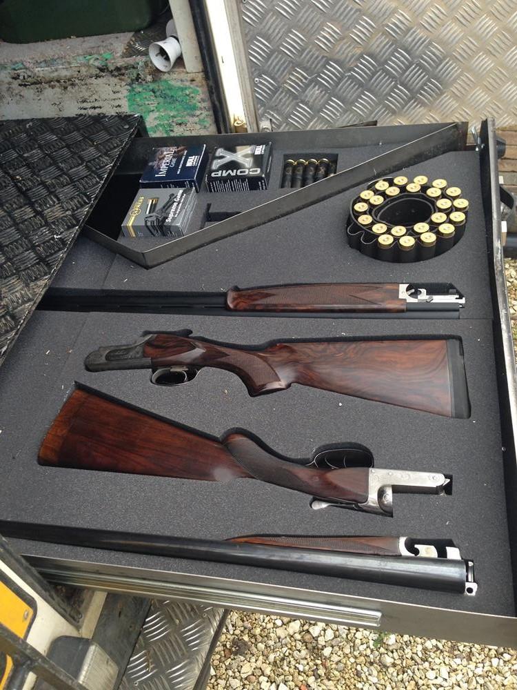 4x4 12G gun tray
