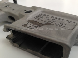 Deep engraved Lower receiver