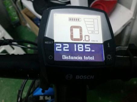 22.000kms en ebike