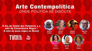 TV Portal Favelas - Dia da Consciência Negra é tema de programa hoje às 21h