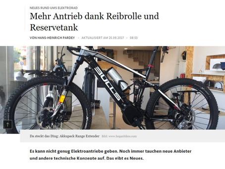 Hegan Bikes en el Frankfurter Allgemeine
