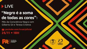 TV Portal Favelas recebe evento com Gilberto Gil, hoje às 18h