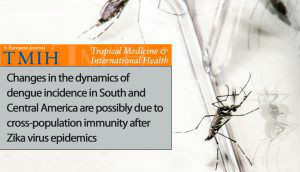 Incidência de dengue nas Américas mudou após epidemias de zika