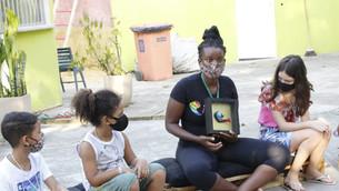 Grupo promove inclusão social na Vila Vintém
