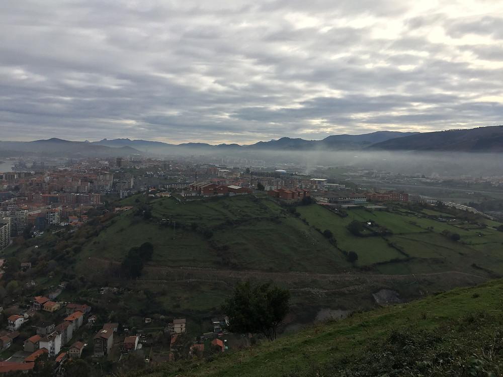Boina de Contaminación sobre el gran Bilbao