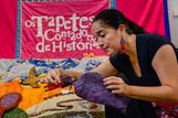Os Tapetes Contadores de Histórias realizam Carnaval da Esperança