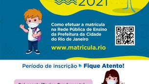 Prefeitura do Rio abre inscrições para novos alunos