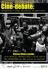 Cine-debate online discute cinema documental de guerrilha, nesta segunda