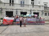 Movimentos LGBTQI+ fazem protesto em prol de minorias