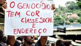 Coalisão faz campanha contra genocídio de jovens pretos