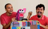 Companhia Ih, Contei realiza doação de mil livros infantis, em lives