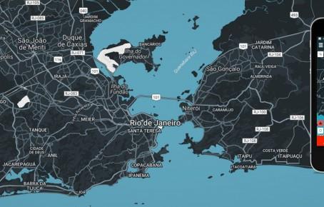 Mapa revela grupos armados do Rio