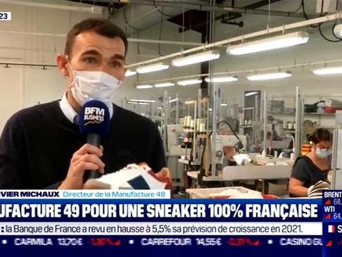 BFM Business parle de la collaboration Sessile x Philippe Zozetto !