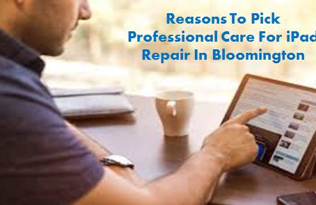 Reasons To Pick Professional Care For iPad Repair In Bloomington