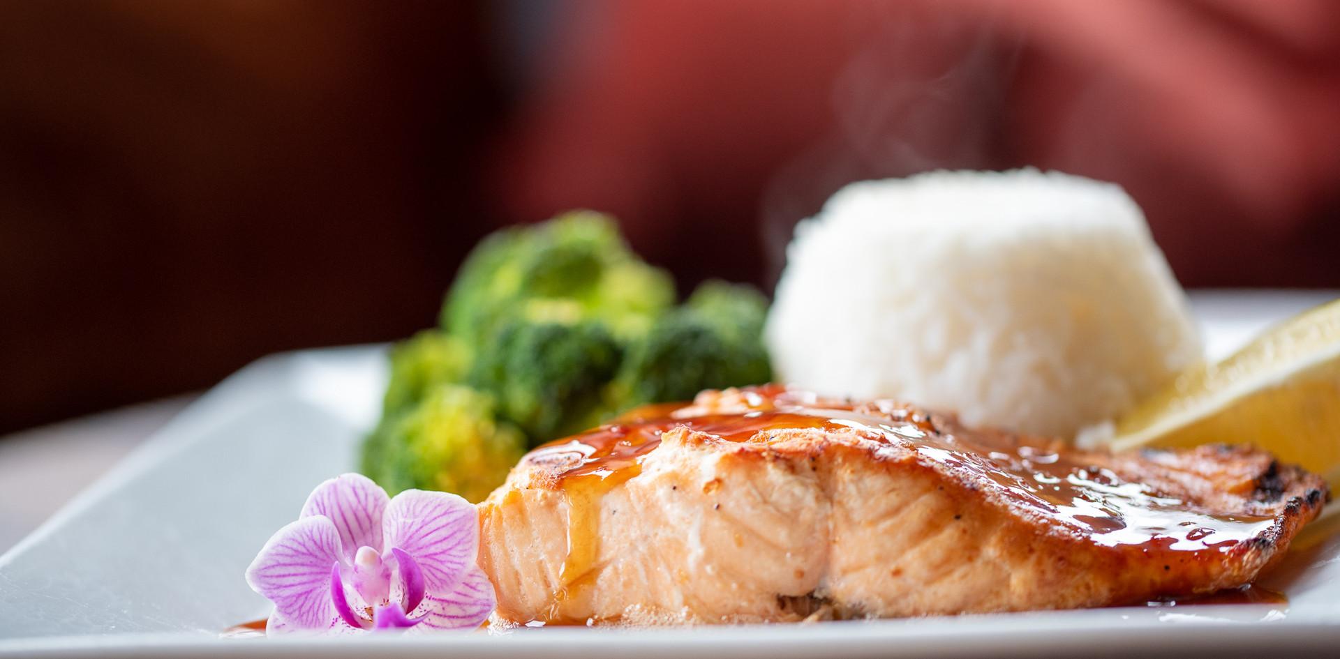 Salmon and Jasmine Rice