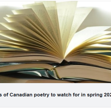 CBC Spring Poetry List