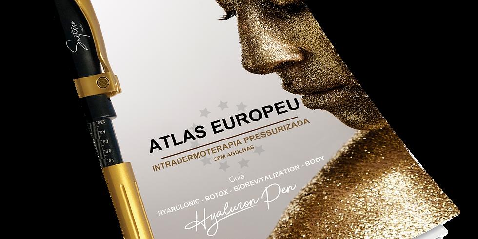 Curso: ATLAS EUROPEU INTRADERMOTERAPIA PRESSURIZADA + Hyaluron Pen - Harmonização Facial sem Agulhas