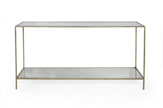 ROSS CONSOLE TABLE GOLD