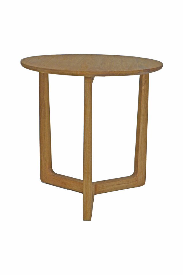CALVIN SIDE TABLE WHITE WASH