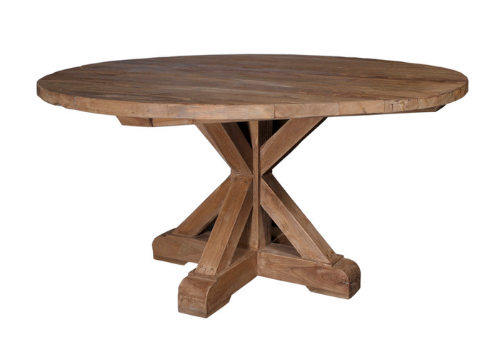 COSTA 59'' ROUND OUTDOOR DINING TABLE