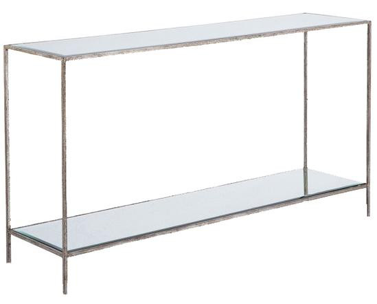 ROSS CONSOLE TABLE SILVER