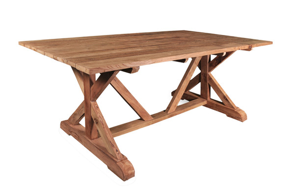 BARTONER 78'' OUTDOOR DINING TABLE