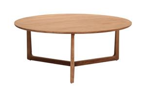 CALVIN COFFEE TABLE WHITE WASH