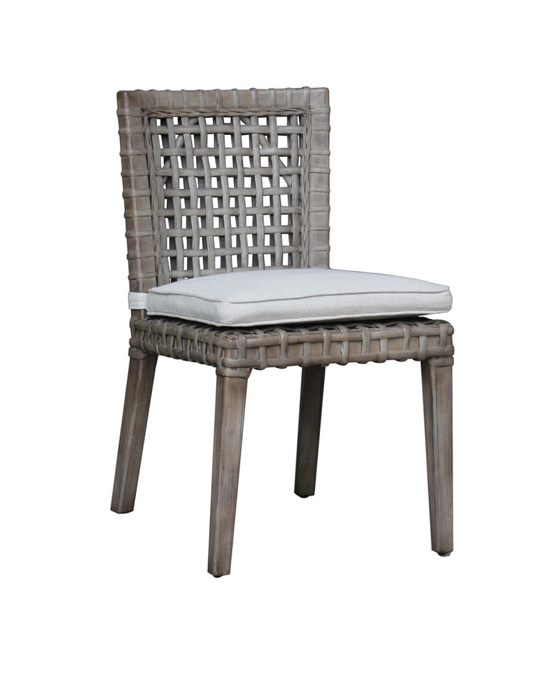 AVALON SIDE DINING CHAIR VINTAGE GREY