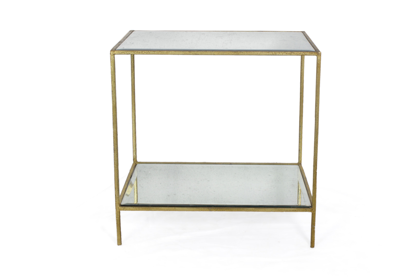 ROSS RECTANGULAR END TABLE GOLD