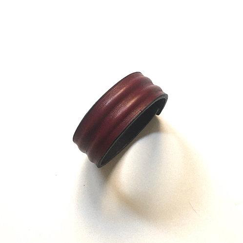 Bracelet Débo bordeaux