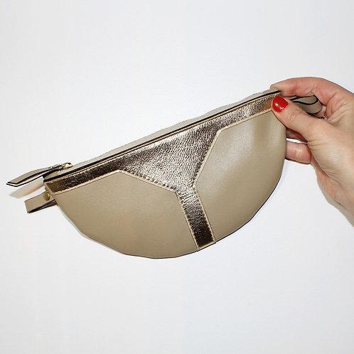 Pochette tambour sable