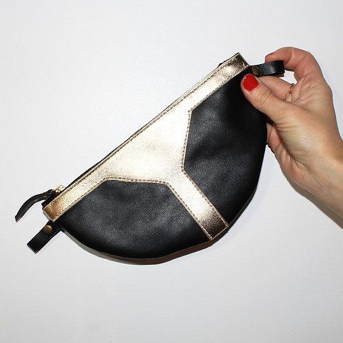 Pochette tambour noire