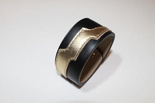Bracelet éclair noir