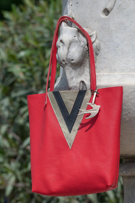 Cabas Victoire coquelicot #atelierbrune