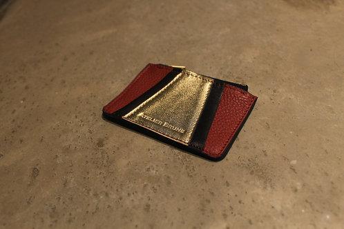 Porte monnaie Vavin rouge/noir
