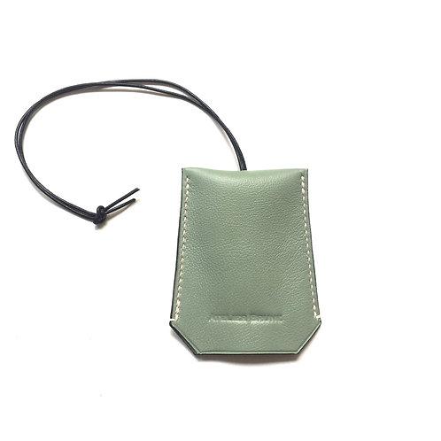 Porte-clés vert amande