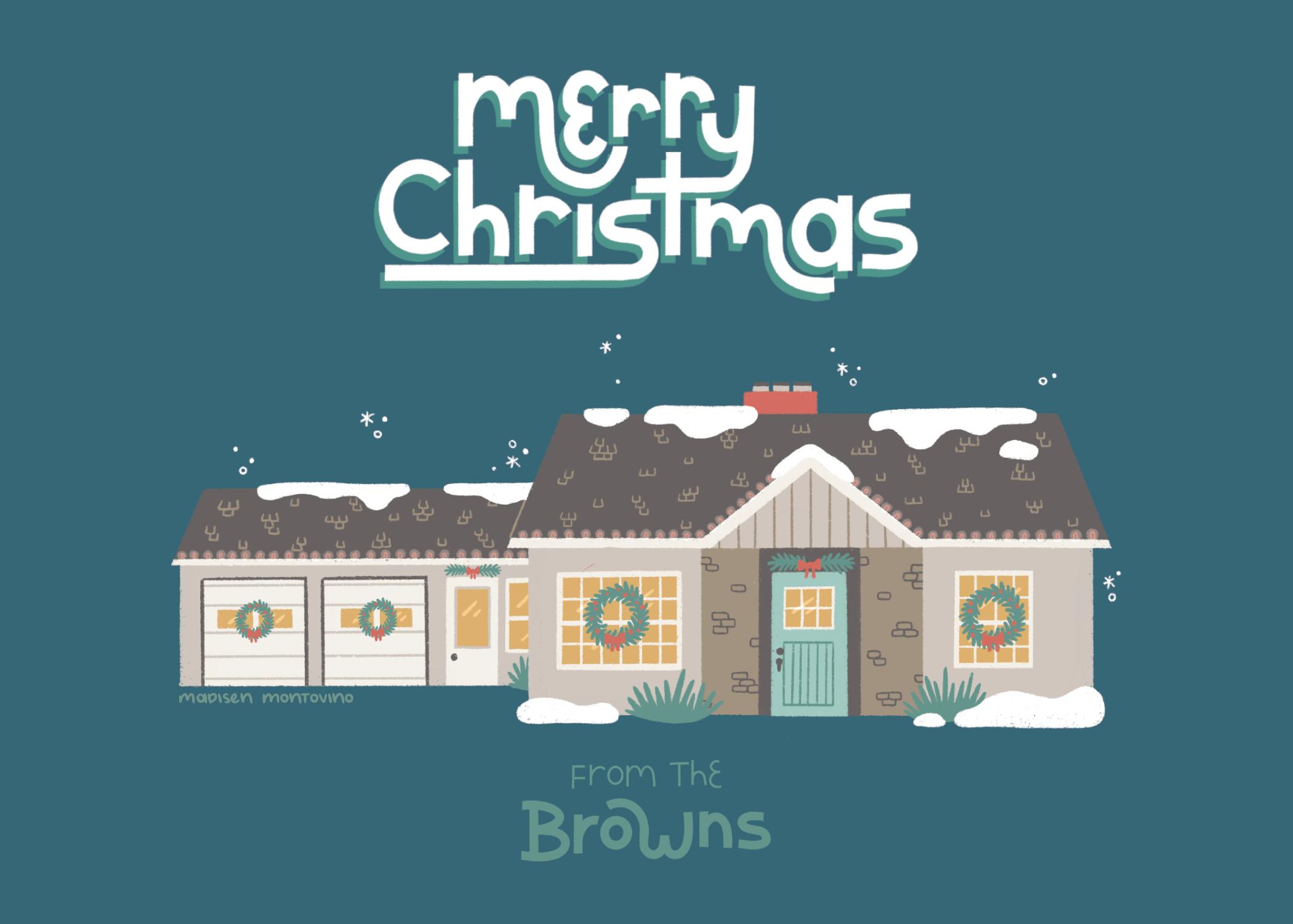 Holiday Card - Browns