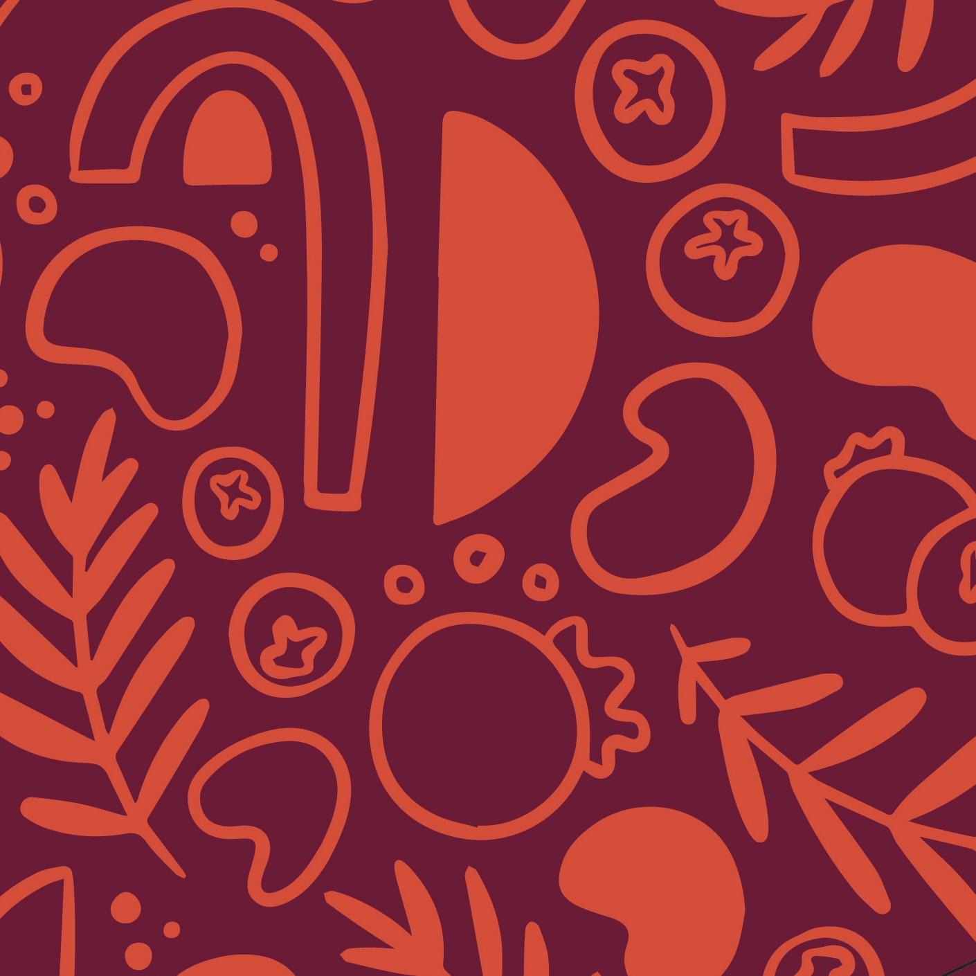 Ciocco & Co. Pattern (Pomegranate)