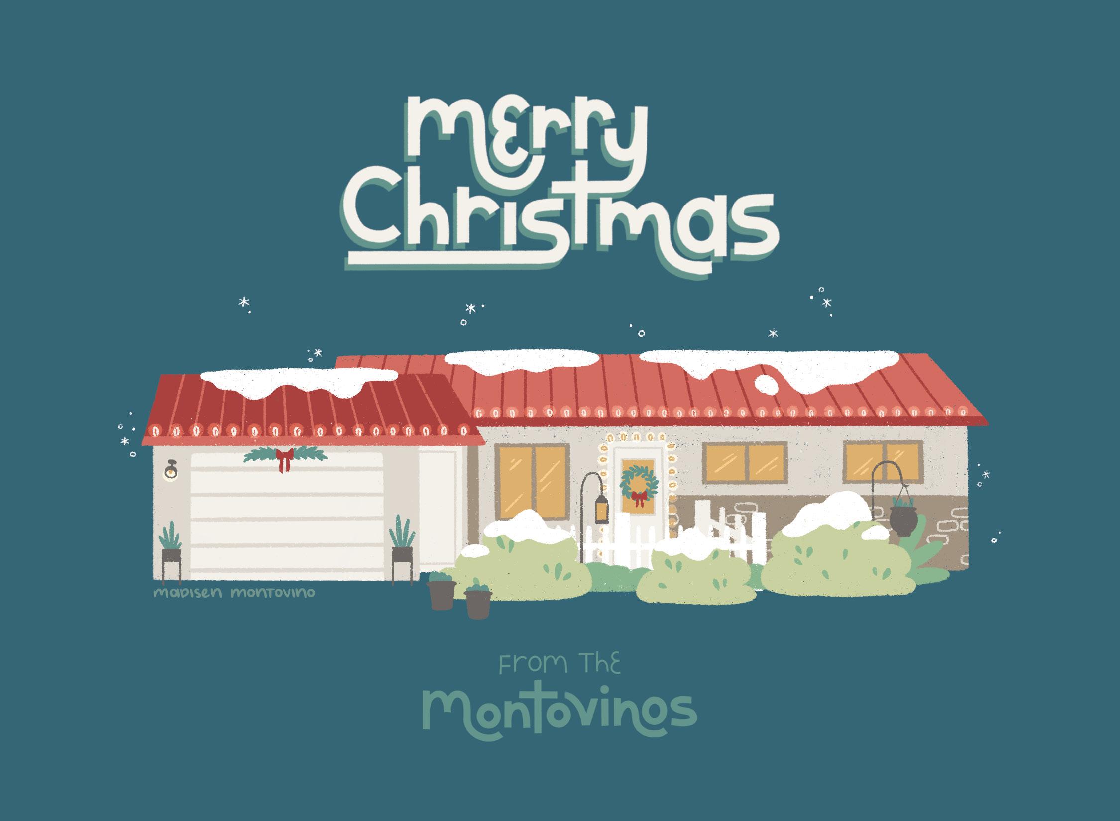 Holiday Card - Montovinos