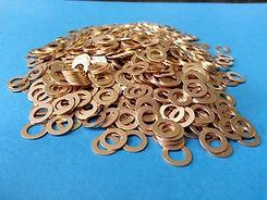 Phosphor bronze washers